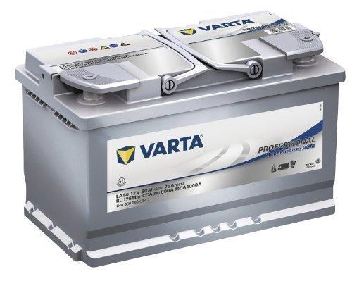 Baterie auto Varta LA80 Professional Dual Purpose AGM 80Ah 12V 840080080