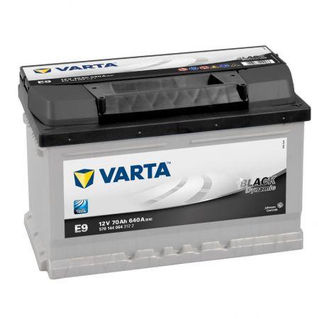 Baterie auto Varta E9 Black Dynamic 70Ah 12V 570144064