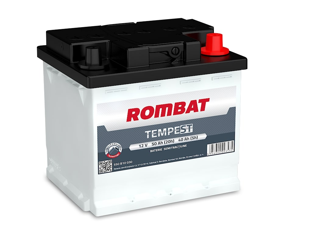 Baterie auto Rombat Tempest 50Ah 12V 550B10030
