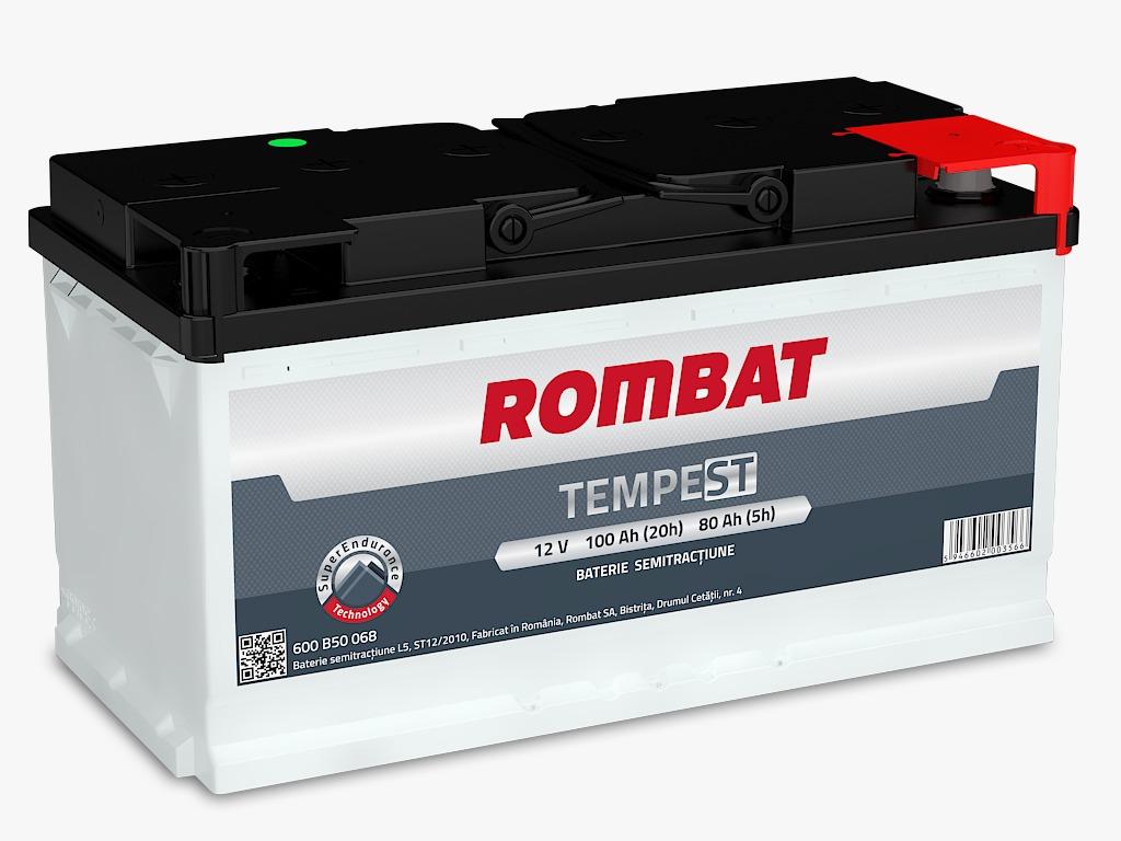 Baterie auto Rombat Tempest 100A 12V