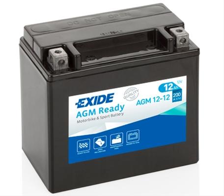 Baterie motocicleta Exide Agm 200A 12V AGM12-12
