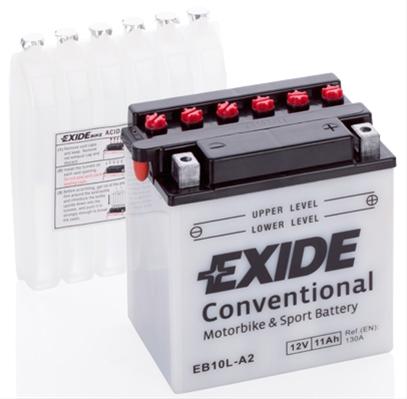 Baterie motocicleta Exide 11Ah 12V EB10L-A2