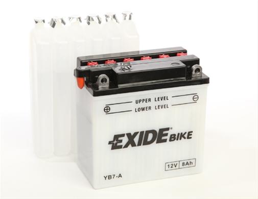 Baterie motocicleta Exide 8Ah 12V EB7-A