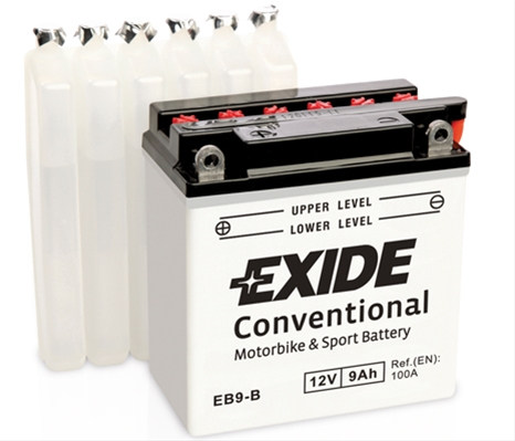 Baterie motocicleta Exide 9Ah 12V EB9-B