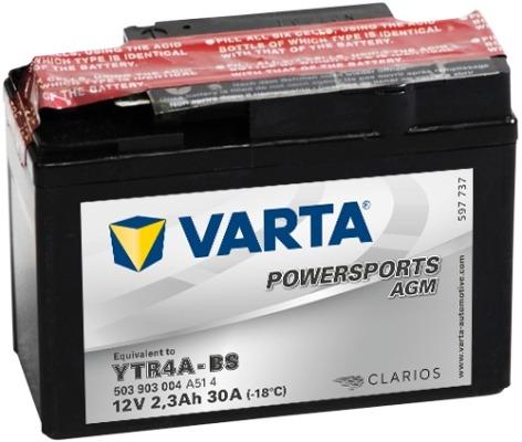Baterie motocicleta Varta Powersports Agm 10Ah 12V 510012009