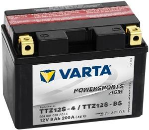 Baterie motocicleta Varta Powersports Agm 11Ah 12V 511901014