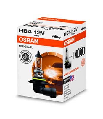 Bec auto halogen pentru far Osram Standard HB4 51W 12V