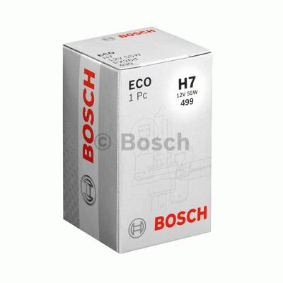 Bec auto halogen pentru far Bosch Eco H7 55W 12V 1987302804