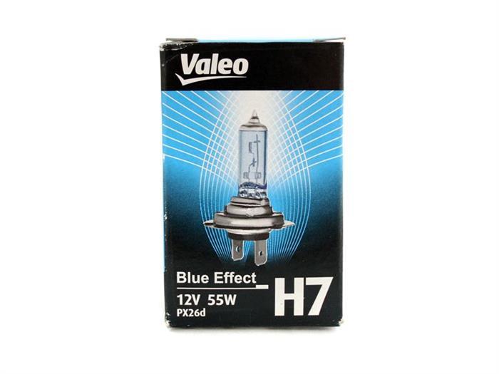 Bec auto halogen pentru far Valeo Blue Effect H7 55W 12V 032521