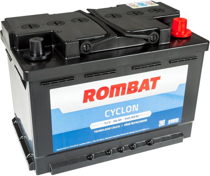 Baterie auto Rombat Cyclon 66Ah 12v 840105095