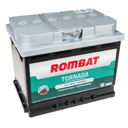 Baterie auto Rombat Tornada 60Ah 540A 12V 5603520054