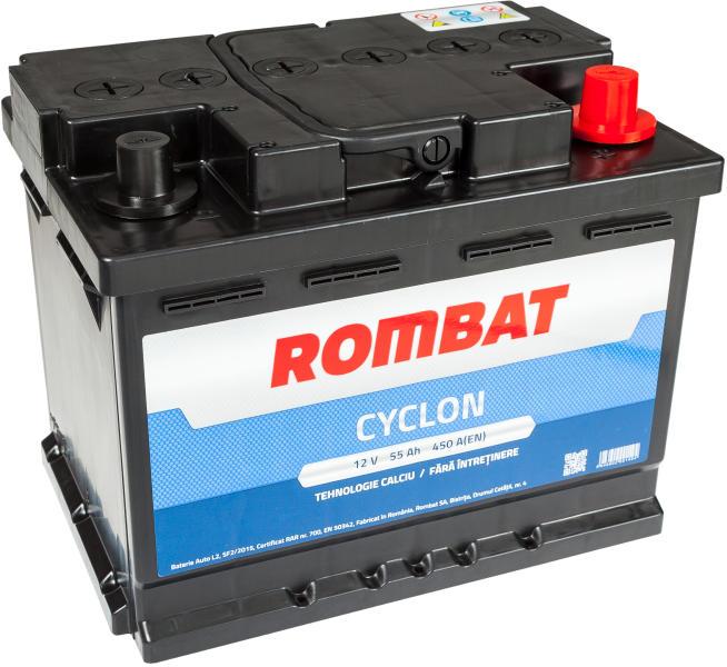 Baterie auto Rombat Cyclon 55AH 450A 12V 5554720045