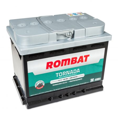 Baterie auto Rombat Tornada 50Ah 480A 12V 5503510048