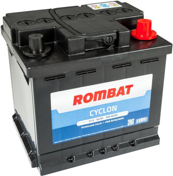 Baterie auto Rombat Cyclon 40Ah 390A 12V 5404700039