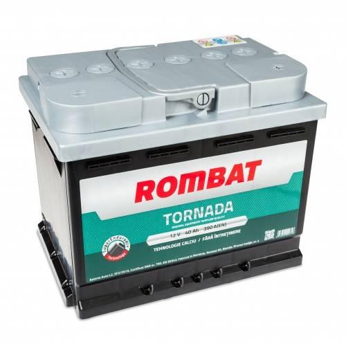 Baterie auto Rombat Tornada 40Ah 390A 12V 5403510039