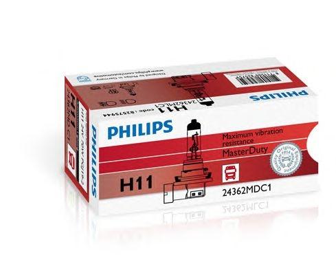 Bec auto halogen pentru far Philips Master Duty H11 70W 24V cutie