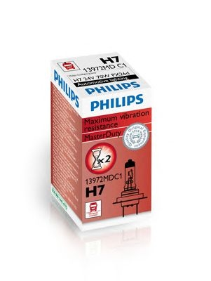 Bec auto halogen pentru far Philips Master Duty H7 70W 24V cutie