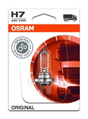 Bec auto halogen pentru far Osram Original H7 70W 24V 64215-01B