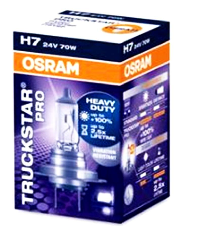 Bec auto halogen pentru far Osram Original H7 70W 24V 64215