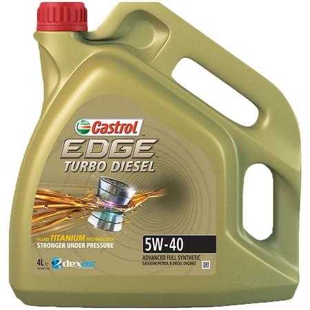 Ulei motor Castrol Edge Titanium FST 5W40 4L