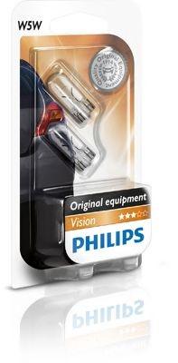 Set 2 becuri halogen Philips Vision W5W 5W 12V 12961B2