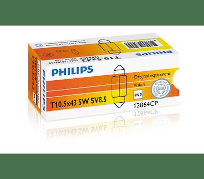 Bec auto halogen Philips Vision C5W-Festoon 5W 12V 12864CP