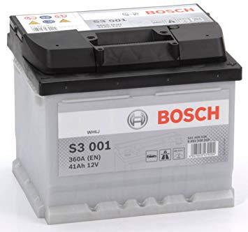 Baterie auto Bosch S3 41Ah 12V 0092S30010