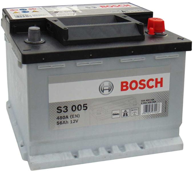 Baterie auto Bosch S3 56Ah 12V 0092S30050