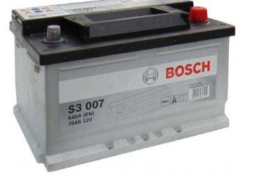 Baterie auto Bosch S3 70Ah 12V 0092S30070