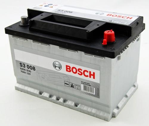 Baterii auto Bosch S3 70Ah 12V 0092S30080