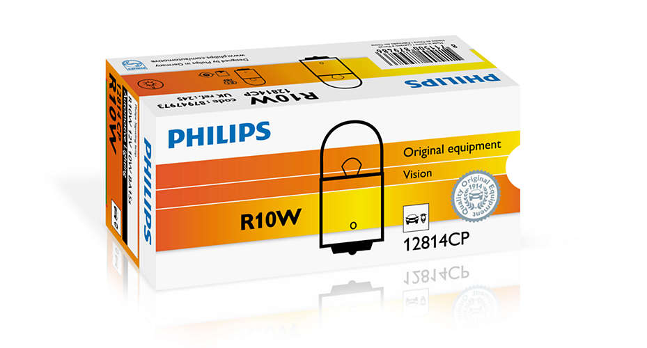 Bec auto halogen Philips Vision R10W 10W 12V 12814CP