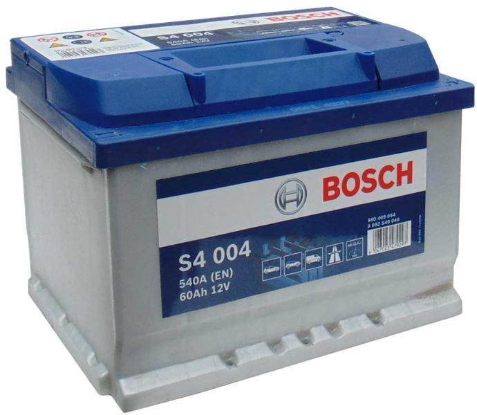 Baterie auto Bosch S4 60Ah 12V 0092S40040