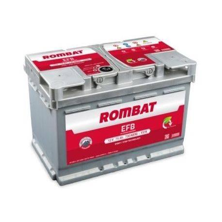 Baterie auto Rombat EFB Start-Stop 75AH 730A 12A 57511A0073