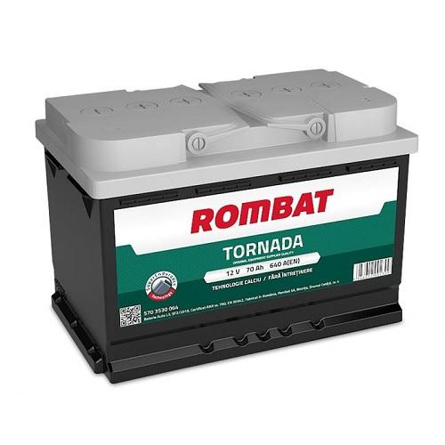 Baterie auto Rombat Tornada 70AH 640A 12V 5703530064