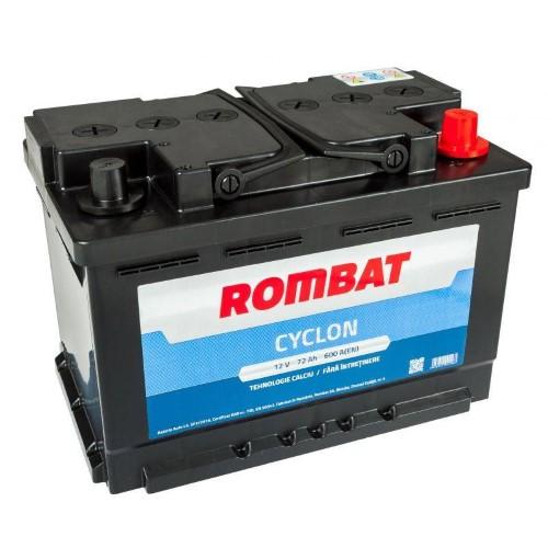 Baterie auto Rombat Cyclon 72AH 600A 12V 5724730060