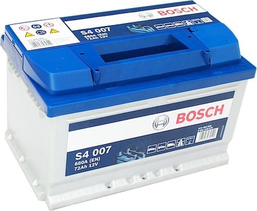 Baterie auto Bosch S4 72Ah 12V 0092S40070