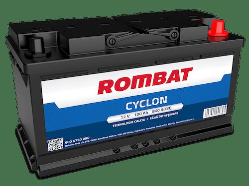 Baterie auto Rombat Cyclon 100AH 800A 12V 6004750080