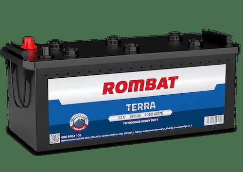 Baterie camion Rombat Terra 180AH 1050A 12V 6806AE3105