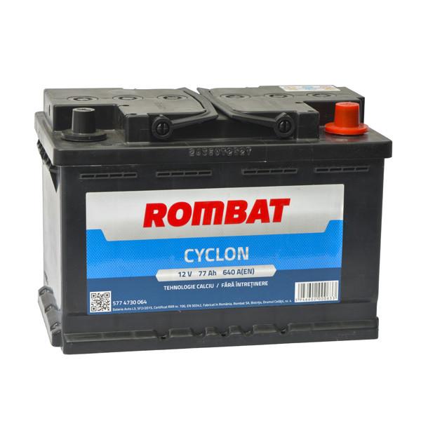 Baterie auto Rombat Cyclon 77AH 640A 12V 5774730064