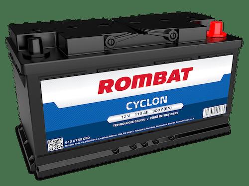 Baterie auto Rombat Cyclon 110AH 900A 12V 6104750090