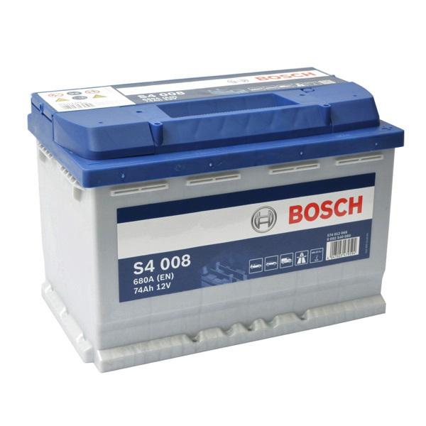 Baterie auto Bosch S4 74Ah 12V 0092S40080