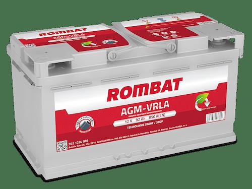 Baterie auto Rombat AGM Start-Stop 92AH 900A 12V 5921250090