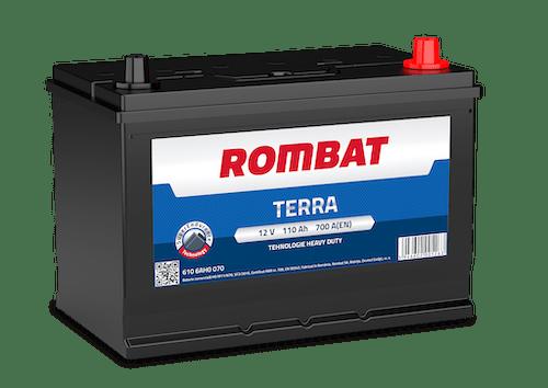 Baterie camion Rombat Terra 110AH 700A 12V 6106AH0070