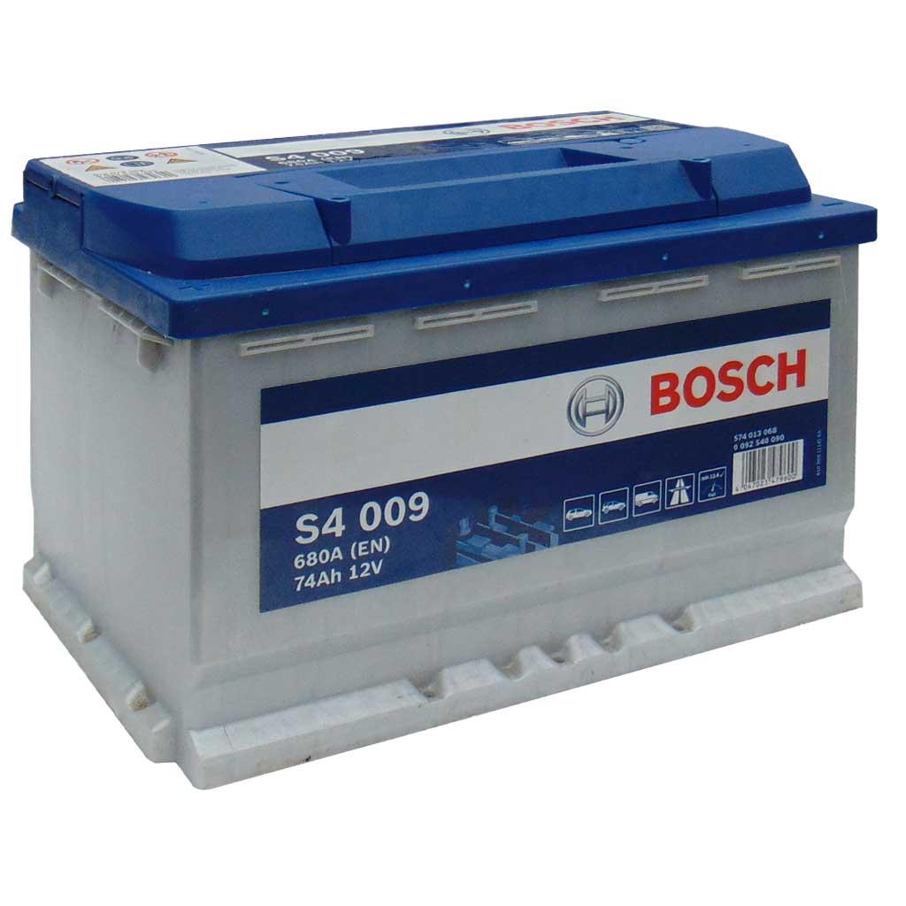 Baterie auto Bosch S4 74Ah 12V 0092S40090