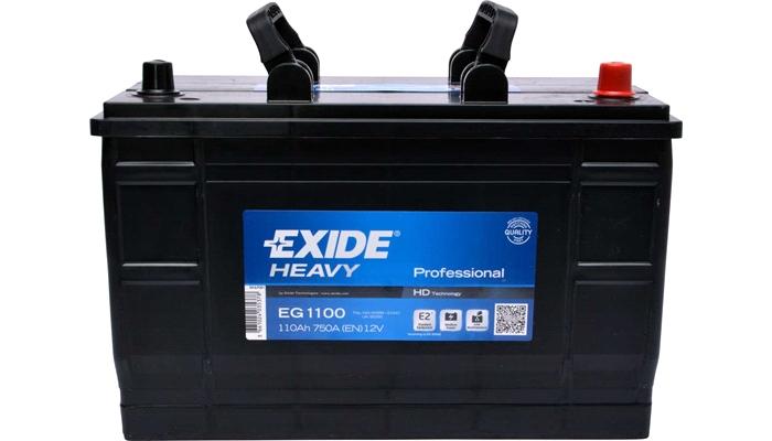 Baterie auto Exide Heavy Professional 110Ah 12V EG1100