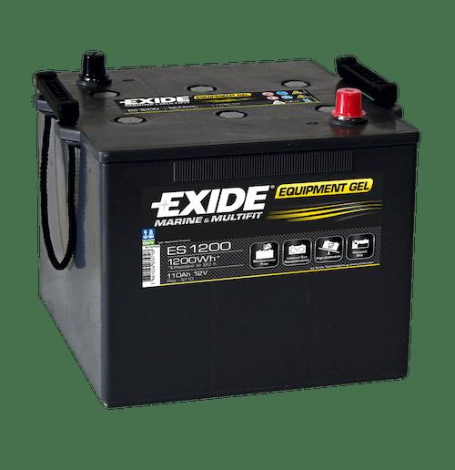 Baterie auto Exide Equipment Gel 110Ah 12V ES1200