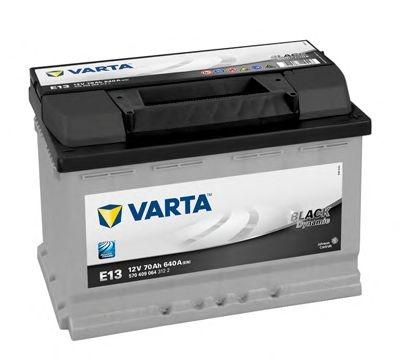 Baterie auto Varta E13 Black Dynamic 70Ah 12V 5704090643122