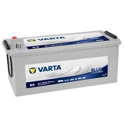 Baterie camion Varta K8 Promotive Blue 140Ah 12V 640400080A732