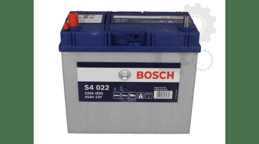 Baterie auto Bosch S4 45Ah 12V 0092S40220