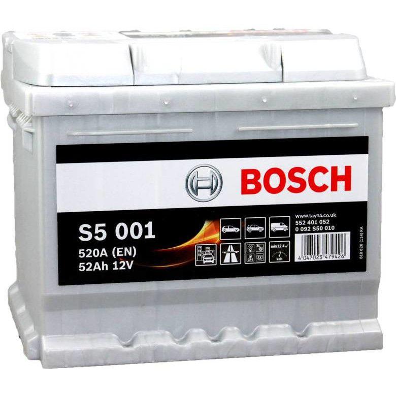 Baterie auto Bosch S5 52Ah 12V 0092S50010